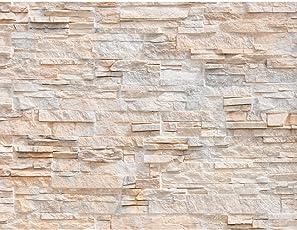Uberlegen Fototapete Steinwand 3D Effekt Vlies Wand Tapete Wohnzimmer Schlafzimmer  Büro Flur Dekoration Wandbilder XXL Moderne Wanddeko