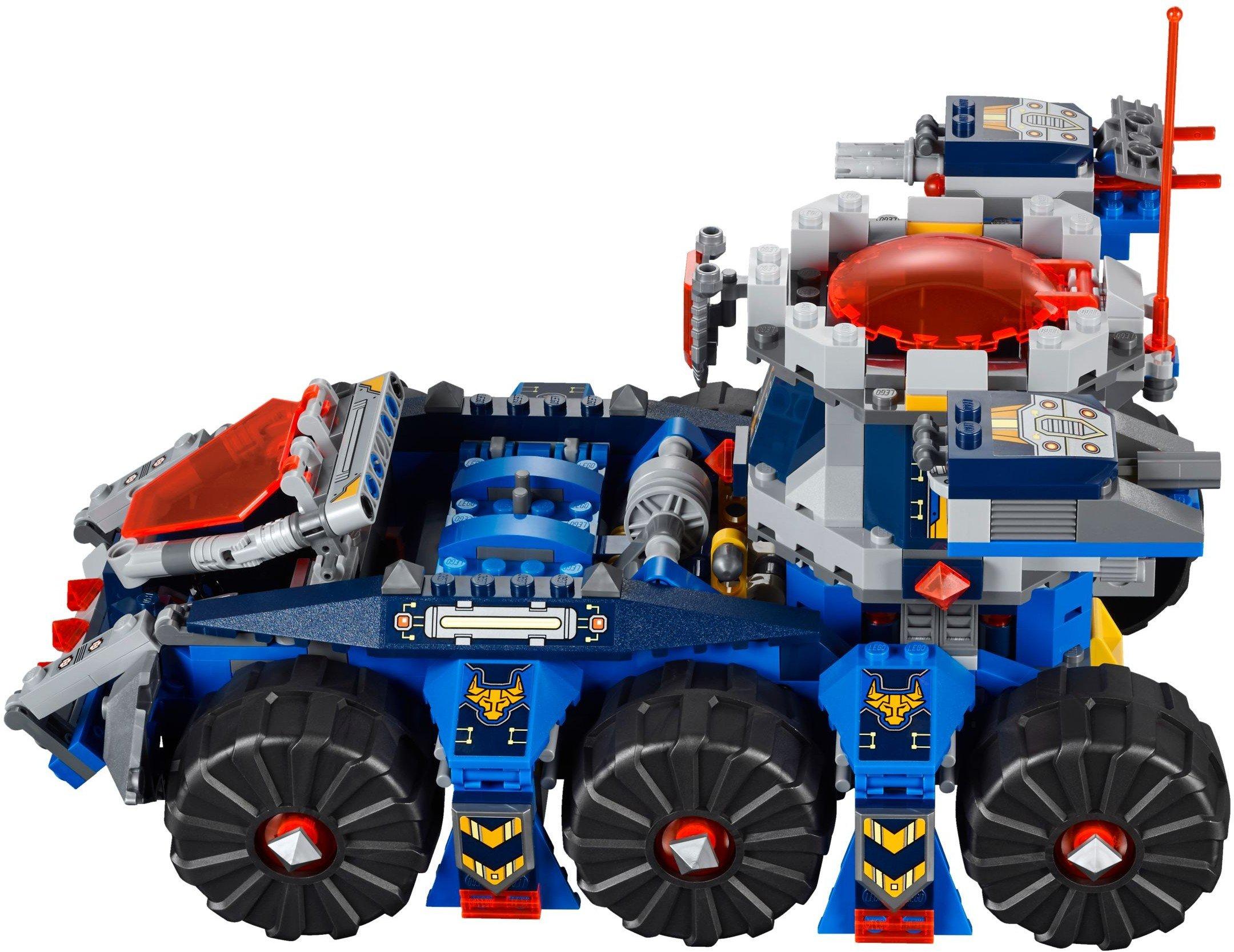 LEGO Nexo Knights Porta Torre di Axl Costruzioni Gioco Bambina Giocattolo, Colore Vari, 70322 4 spesavip