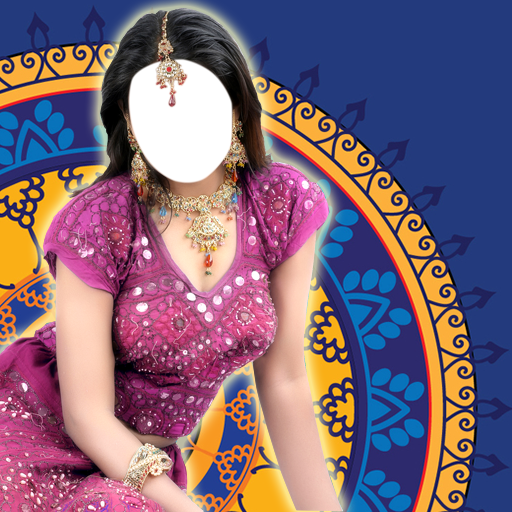 Saree-Foto-Montage (Sari Com Saree)