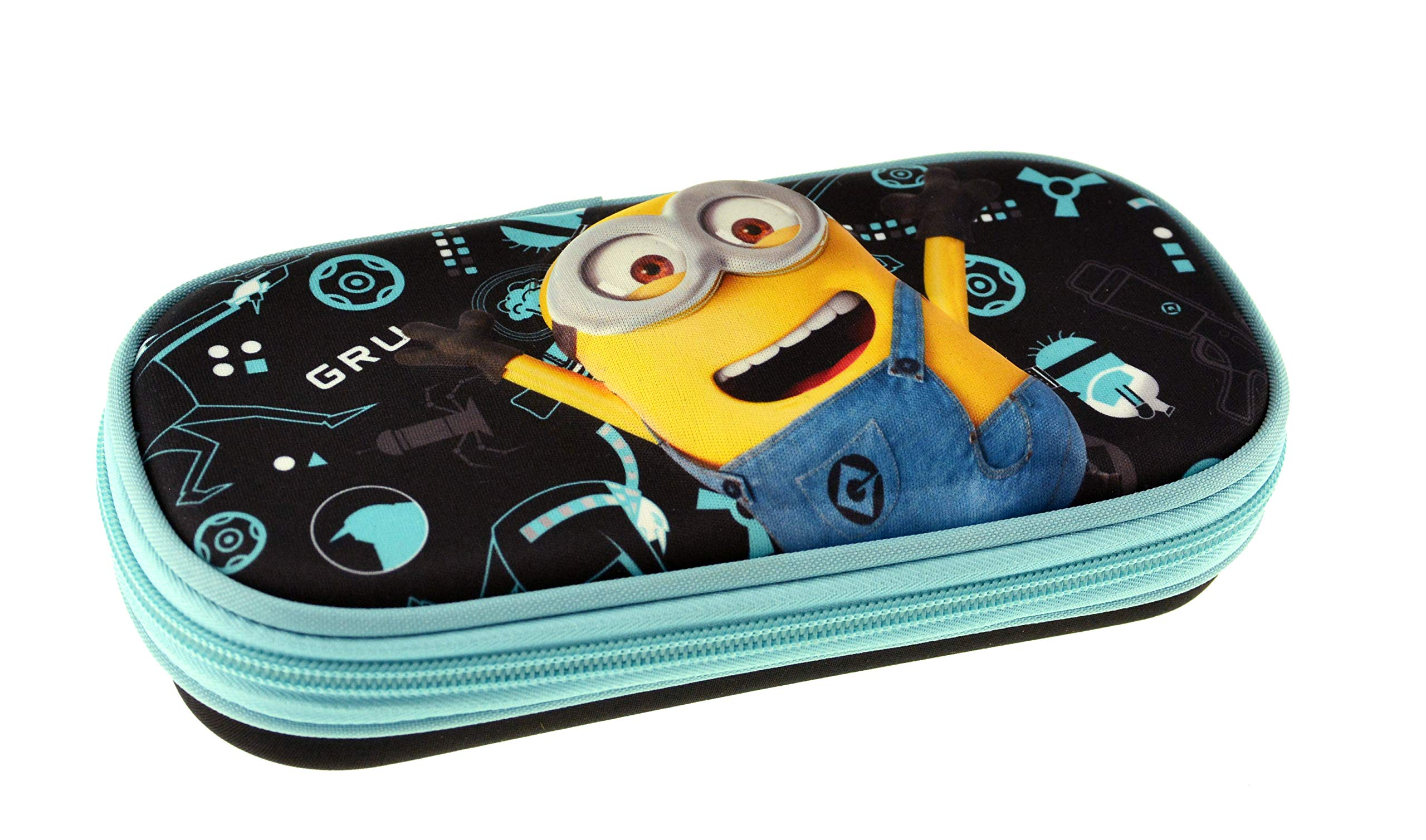 Graffiti Despicable Me Estuches, 22 cm, Negro (Black)