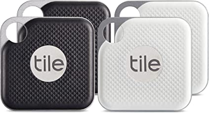Tile EC-18004 Pro mit austauschbarer Batterie - 4er Pack