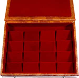 GiRiJA K16 RED Earrings Box Studs Box jumka Box Jewellery Box