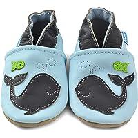 Juicy Bumbles Chaussures Bébé - Chaussons Bébé - Chaussons Cuir Souple - Chaussures Cuir Souple Premiers Pas - Bébé…