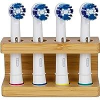Support en bambou pour têtes de brosses à dents ORAL B. Support pour têtes de brosses à dents électriques fait à la main…