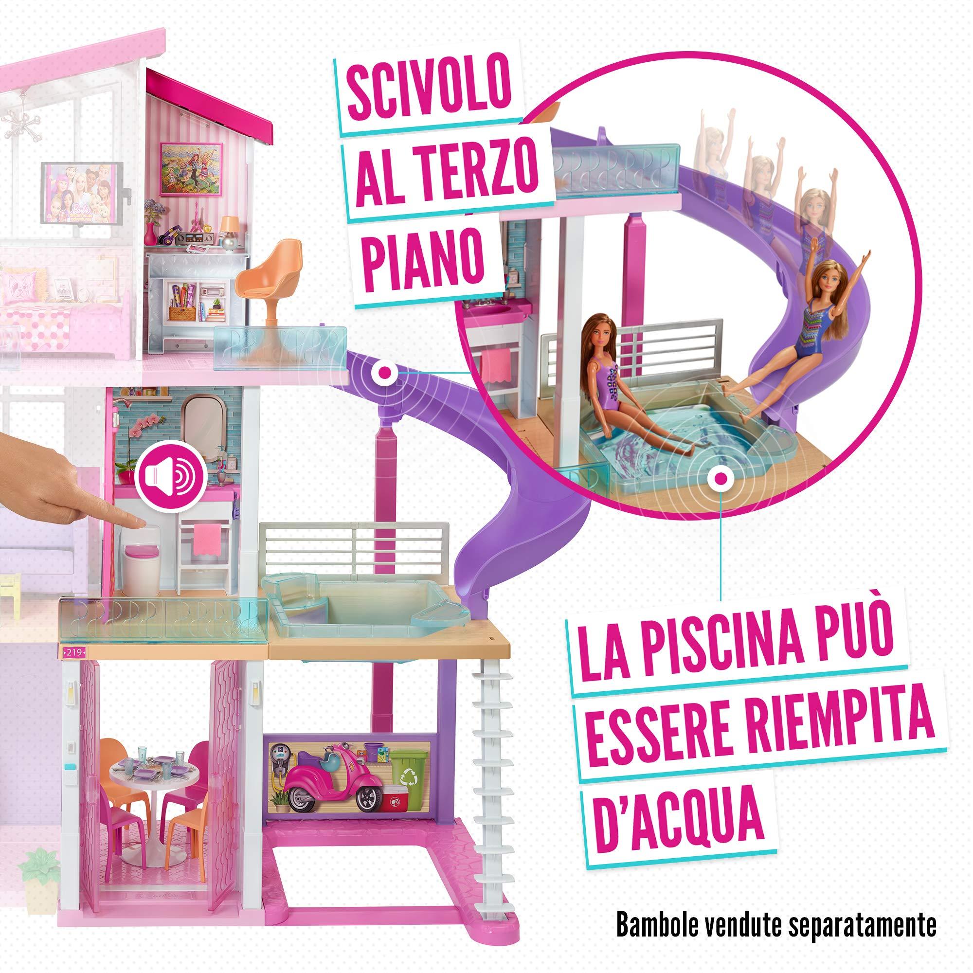 casa di barbie con ascensore