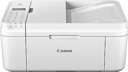 Canon Pixma MX495 Multifunktionsgerät (Wifi, Scanner, Kopierer, Drucker, Fax, 4,800 x 1,200 DPI) weiß