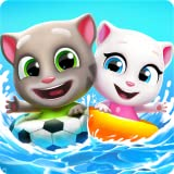 Talking Tom Pool Puzzle Game