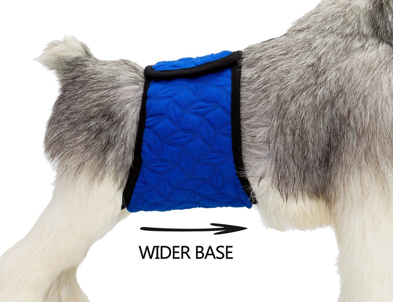 Mkouo Male Dog Belly Band Wraps Incontinence Nappies for Small and Medium Dogs