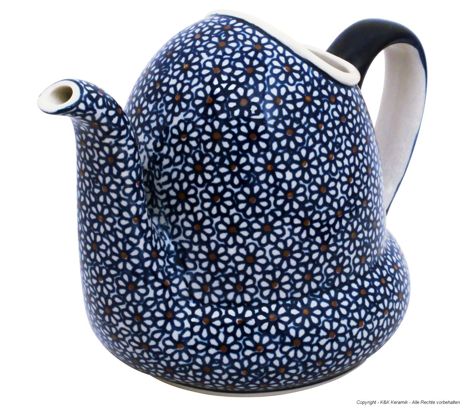 Bunzlauer Keramik Ceramic Watering Can V = 1.0 L in the decor 120