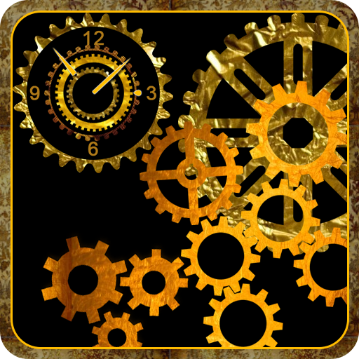 Mechanical Gear Clock Live Wallpaper Amazoncouk Appstore For Android
