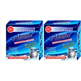 Atomic Dishwasher Detergent Power PACK OF TWO 900 GM EACH Tested by APCL London, For ultra crystal clean finish to your crockery.