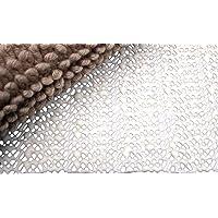 Moon Anti-Rutsch Matte Teppichunterlage Premium zuschneidbar, rutschfest und 60° waschbar (60x120)