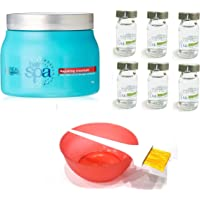 L'Oreal Paris Hair Spa - Set of 9 (Repairing Mask, Hydrating Ampoules, Mixing Bowl, Dye Brush) with Ayur Product in…