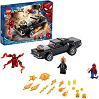LEGO Spider-Man and Ghost Rider V.. Building Blocks for 7 Years and Above