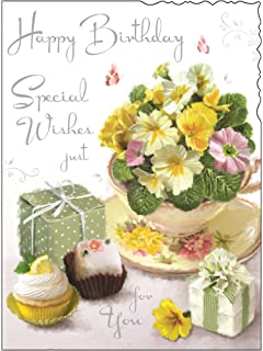 Fantastic Jonny Javelin Open Female Birthday Card Flowers Table 7 25 X Funny Birthday Cards Online Aeocydamsfinfo