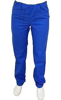 M Ref.817 MISEMIYA Abbigliamento Lavoro Unisex Collo Picco Maniche Corte Uniforme Clinica Ospedale Pulizia Veterinario IGIENE OSPITALIT/Á Nero