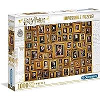 Clementoni- Harry Potter-1000 pièces-Puzzle Adulte-fabriqué en Italie, 61881, Multicolore