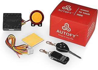 Autofy Slider Key Universal Anti-Theft Alarm System for All Bikes