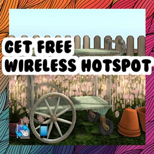 Get free wireless hotspot