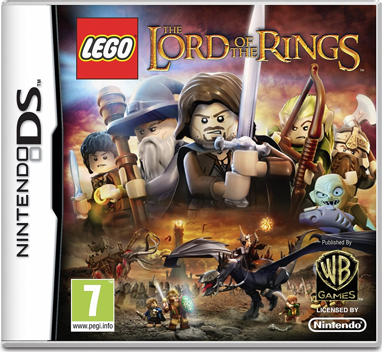 LEGO The Lord of the Rings (Nintendo DS): Amazon.co.uk: PC & Video Games