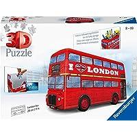 Ravensburger - Puzzle 3D - Véhicule - Bus londonien - 12534