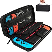 Daydayup Switch Case Compatible With Nintendo Switch - Carrying Case with 20 Game Cartridges, Protective Hard Shell…