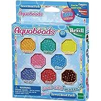 Aquabeads - La Recharge Perles A Facettes - 79178 - Recharge Perles Assorties - Loisirs Créatifs