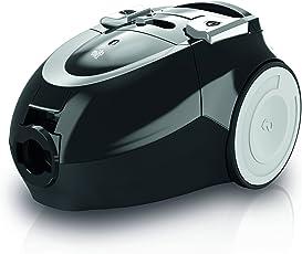 Dirt Devil DD7374-2 Beat2.1 Staubsauger EEK B (800 W Hocheffizienzmotor, 1,5 L, HEPA Media Ausblasfilter, mit Beutel) schwarz