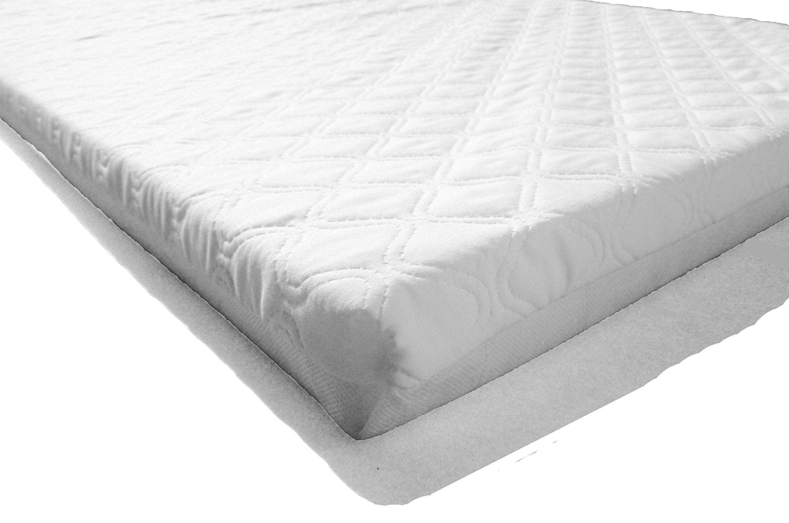 British Made With High Grade Density Foam CMHR28 LAURA 119x59cm Baby Travel Cot Mattress