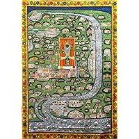Tallenge - Brij Chaurasi Kos Pichwai - Krishna Vintage 19th Century Art- Medium Canvas Rolls(Canvas,17 x 24 inches…
