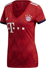 adidas Damen 18/19 FC Bayern Home Trikot