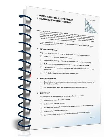 Checkliste Evakuierung Unternehmen [PDF Download]