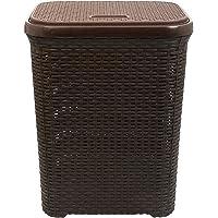 Esquire Elite Laundry Basket, Brown Colour, 50L