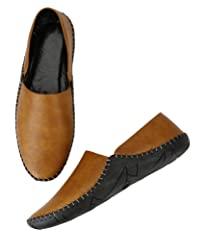 Restinfoot Men's Loafers 251 Synthetic Loafers/Casual Shoes/Shoes for Men's/Trendy Loafers/Stylish Loafers/Unique Loafers