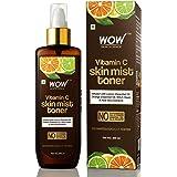 WOW Skin Science Vitamin C Skin Mist Toner with Lemon Essential Oil, Orange Essential Oil With Hazel & Aloe Vera…