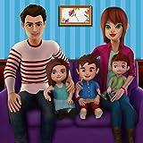 Virtuelle Familie Mom Simulator 2018: Mama Baby Kindertagesstätte Sim Abenteuer Spiele für Mädchen kostenlos 2018