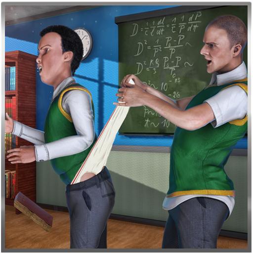 High School Bully Gangster-Simulator Spiel 3D: Vegas City Criminal Mobbing im Verbrechen Abenteuer Mission Free For Kids