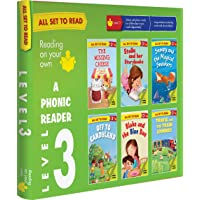All set to Read- A Phonic Reader- Level 3- PHONICS READERS- 6 books in a Box: box set