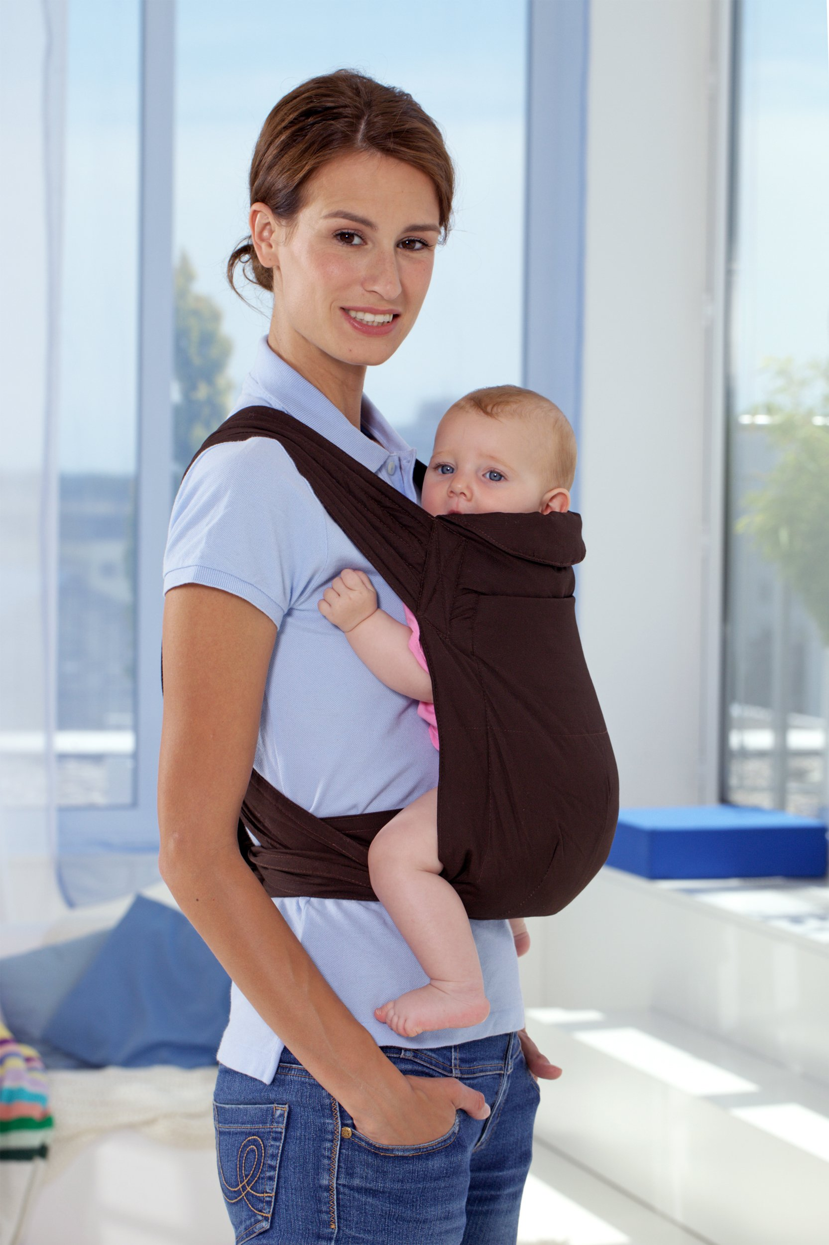 Amazonas Mei Tai Asian Traditional Baby Carrier  Available in 2 designs Carrier can be reversed Easy to put on 5