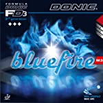 DONIC Blue Fire M3 Table Tennis Rubber (Red)