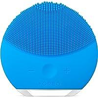 FOREO LUNA mini 2 Spazzola detergente viso per la skincare professionale da fare in casa, Aquamarine