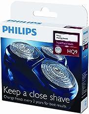 Philips TripleTrack Scherköpfe für HQ81 HQ82, HQ91, PT9 und AT9 Serien (HQ9/50)