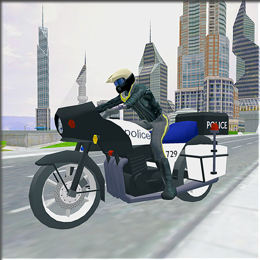 police-motorcycle-crime-chase