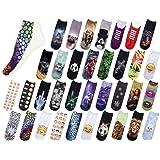 Unbekannt Socken bunt mit lustigen Motiven Print Socken Motivsocken Damen Herren ALSINO