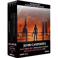 John Carpenter-Coffret : New York 1997 + Prince des ténèbres + Invasion Los Angeles + Fog [4K Ultra HD Bonus-Édition…