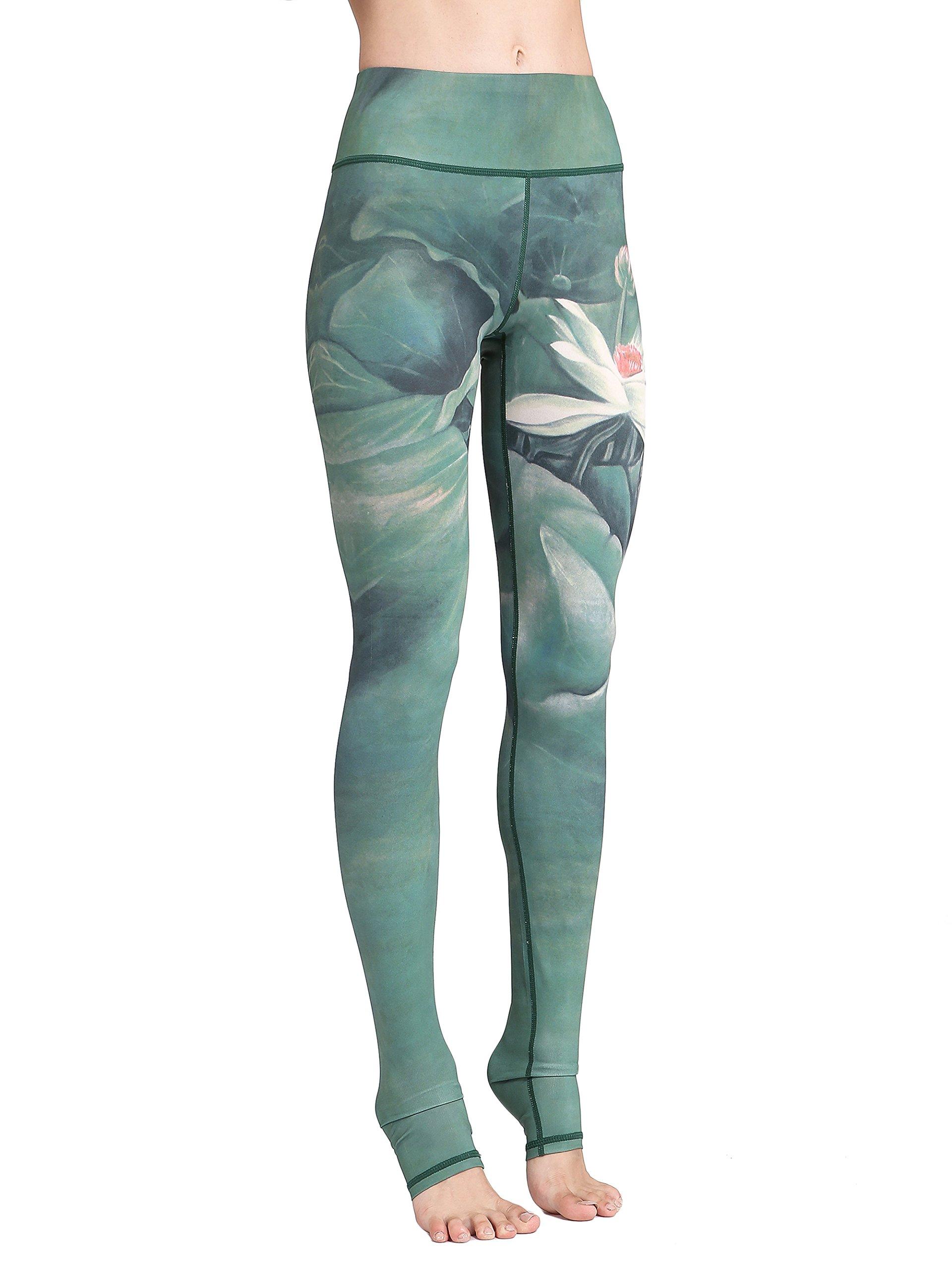 b4a2416725 81%2BmoMEycuL - FLYILY Women's Long Yoga Pants Sports Leggings Running  Tights High Waist Stretch
