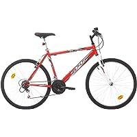 Eden Bikes VTT 26'' Homme Trend/S.P.R. - Cadre Acier Rigide - 18 Vitesses Via POIGNEES TOURNANTES INDEXEES