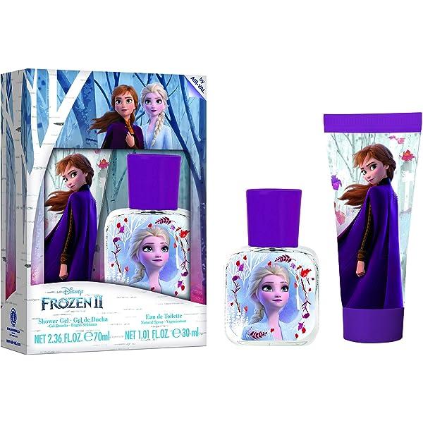 Disney Frozen II 3pc Toothbrush Set, Body Wash /& Lipgloss