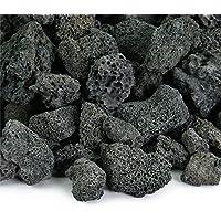 Shehri Kisaan Black Grey Lava Natural Pumice Volcano Rocks (420 g, 2-6 Inch)