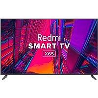 Redmi 164 cm (65 inches) 4K Ultra HD Android Smart LED TV X65 L65M6-RA (Black) (2021 Model)